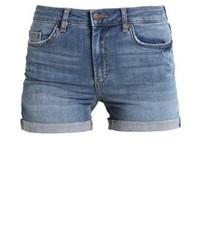Pantalones Cortos Vaqueros Azules de Pieces