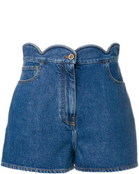 Pantalones cortos vaqueros azules de Valentino