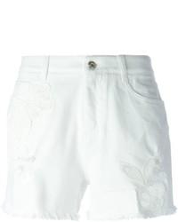 Pantalones cortos vaqueros blancos de Ermanno Scervino