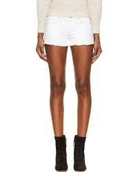 Pantalones cortos vaqueros blancos de Etoile Isabel Marant