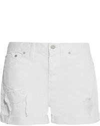Pantalones cortos vaqueros blancos de Madewell