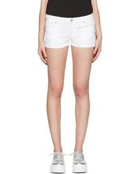 Pantalones Cortos Vaqueros Blancos de Versus