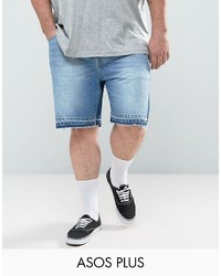 Pantalones cortos vaqueros celestes de Asos