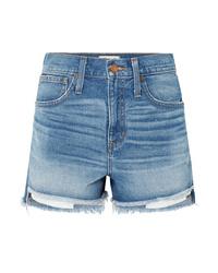 Pantalones cortos vaqueros celestes de Madewell