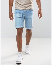 Pantalones cortos vaqueros celestes de Mango