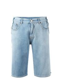 Pantalones cortos vaqueros celestes de MM6 MAISON MARGIELA