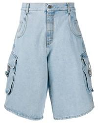 Pantalones cortos vaqueros celestes de Moschino
