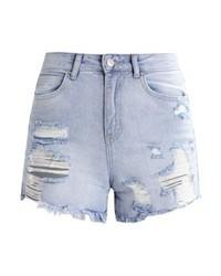 Pantalones Cortos Vaqueros Celestes de New Look