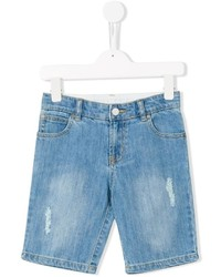 Pantalones cortos vaqueros celestes de Stella McCartney