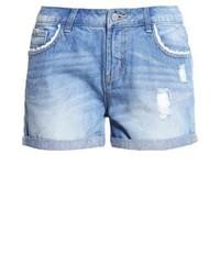 Pantalones Cortos Vaqueros Celestes de Vero Moda