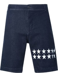 Pantalones Cortos Vaqueros de Estrellas Azul Marino de GUILD PRIME