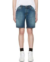 Pantalones cortos vaqueros en verde azulado de AMI Alexandre Mattiussi
