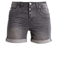 Pantalones Cortos Vaqueros Gris Oscuro de Tom Tailor