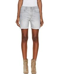 Pantalones cortos vaqueros grises de Etoile Isabel Marant