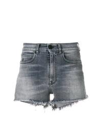 Pantalones cortos vaqueros grises de Marcelo Burlon County of Milan