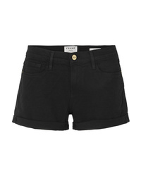 Pantalones cortos vaqueros negros de Frame