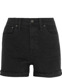 Pantalones cortos vaqueros negros de Madewell