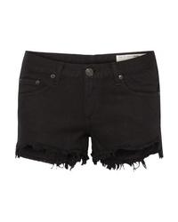 Pantalones cortos vaqueros negros de Rag & Bone