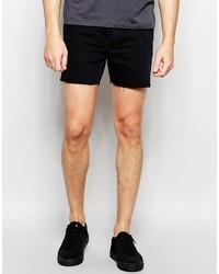 Pantalones cortos vaqueros negros de Religion