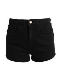 Pantalones Cortos Vaqueros Negros de River Island