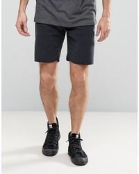 Pantalones cortos vaqueros negros de Selected
