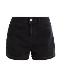Pantalones Cortos Vaqueros Negros de Vero Moda
