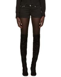 Pantalones cortos vaqueros negros de Versus