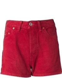 Pantalones cortos vaqueros rojos de Levi's