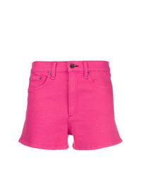 Pantalones cortos vaqueros rosa de Rag & Bone