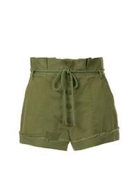 Pantalones cortos verde oliva de Alice McCall