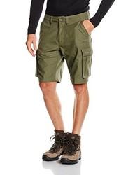 Pantalones cortos verde oliva de Bergans