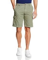 Pantalones cortos verde oliva de Bugatti