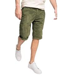Pantalones cortos verde oliva de edc by Esprit
