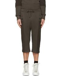 Pantalones Cortos Verde Oliva de Helmut Lang