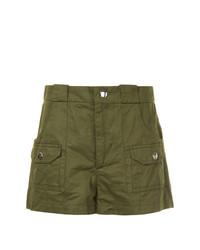 Pantalones cortos verde oliva de Marni