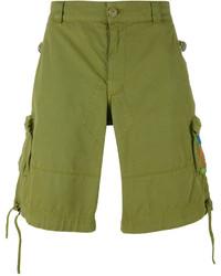 Pantalones cortos verde oliva de Moschino