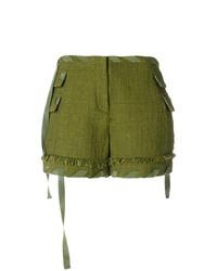 Pantalones cortos verde oliva de MSGM