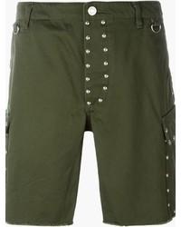 Pantalones cortos verde oliva de Saint Laurent