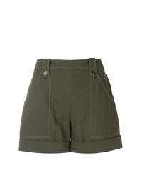 Pantalones cortos verde oliva de Vanessa Seward