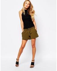 Pantalones cortos verde oliva de Vila