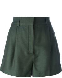 Pantalones cortos verde oscuro