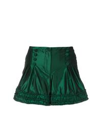 Pantalones cortos verde oscuro de Giorgio Armani Vintage