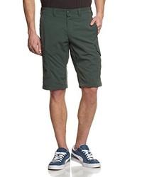 Pantalones cortos verde oscuro de Salewa