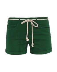 Pantalones Cortos Verdes de Only