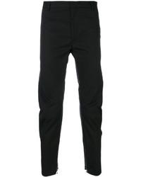 Pantalones de algodón negros de Lanvin