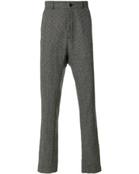 Pantalones de lana en gris oscuro de Henrik Vibskov