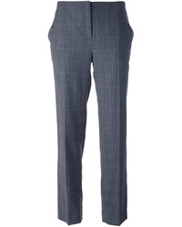 Pantalones de lana en gris oscuro de Salvatore Ferragamo