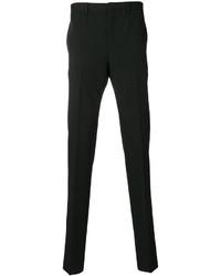 Pantalones de lana negros de Givenchy
