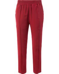 Pantalones de seda rojos de Haider Ackermann