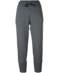 Pantalones en gris oscuro de adidas by Stella McCartney